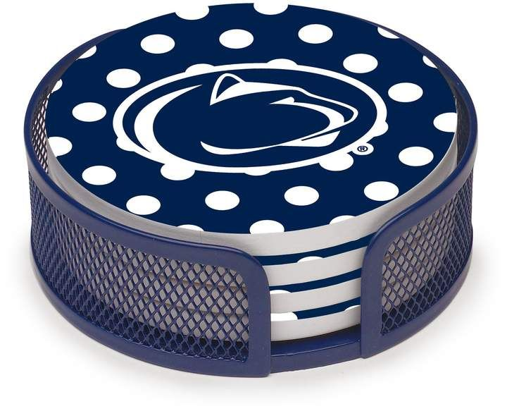 Thirstystone Stoneware Coaster Set Penn State University Sponsored Paid Coaster Stoneware Thirstysto In 2020 Office Supplies Diy Supplies Diy Stoneware