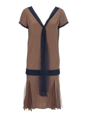 Kleid - Godets, Chiffonbänder 112 0712 B | чикаго 20-30-е годы ...