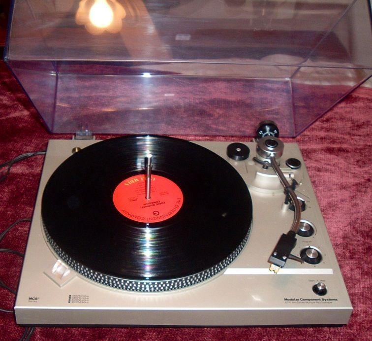Mcs Series Turntable Was Sold Through Jc Penney Despite