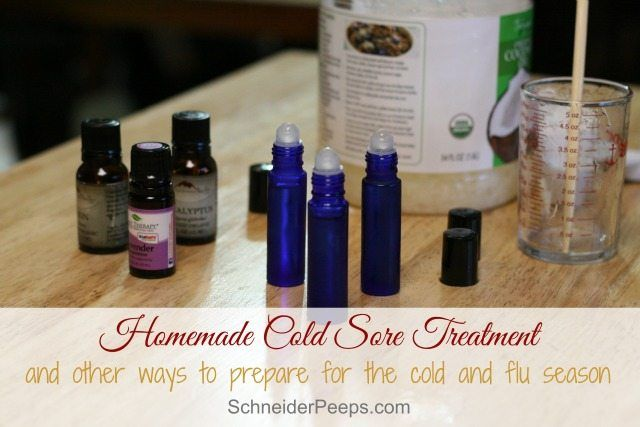 Cold and flu season is almost here. Prepare with these simple home remedies, plus a homemade cold sore remedy.