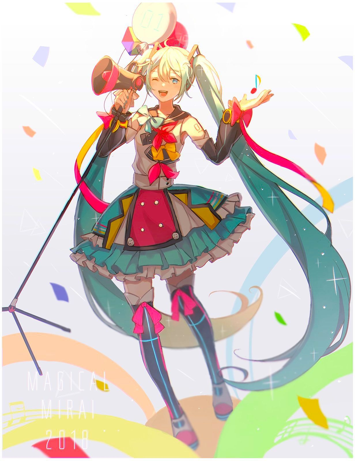 magical mirai 2018! Hatsune miku, Hatsune, Anime