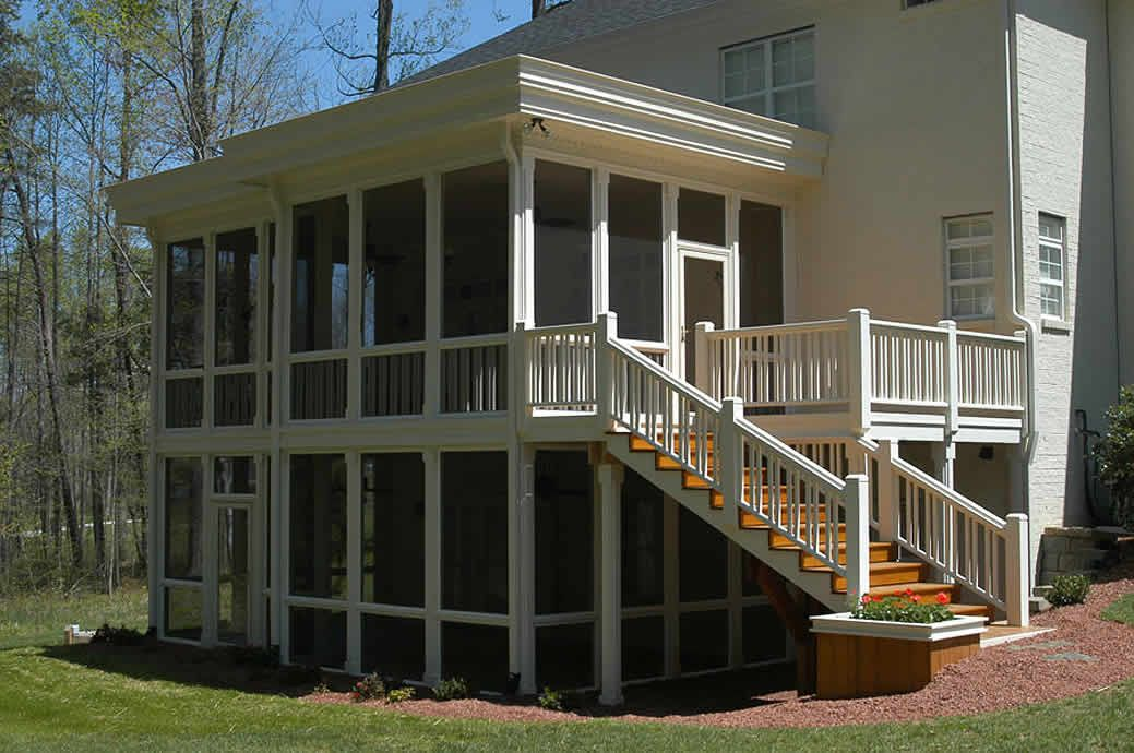 Screened Porch Amp Sunrooms Patio Under Decks Screened In