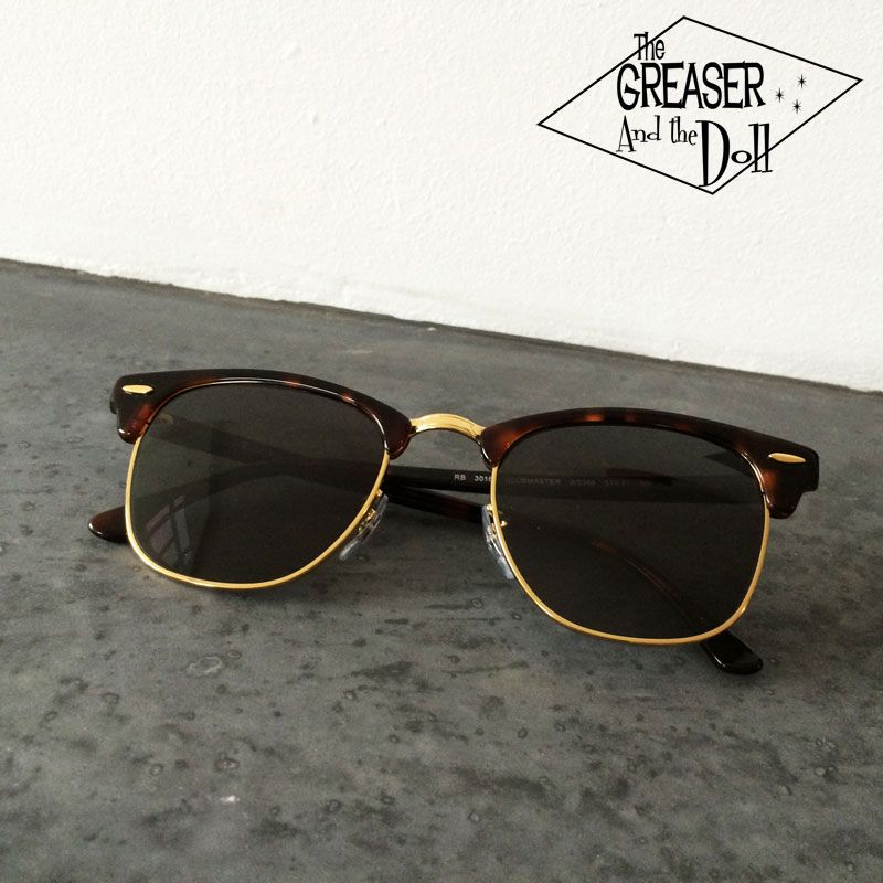 a0583c46107 Ray Ban Clubmaster Sunglasses - The Greaser and the Doll