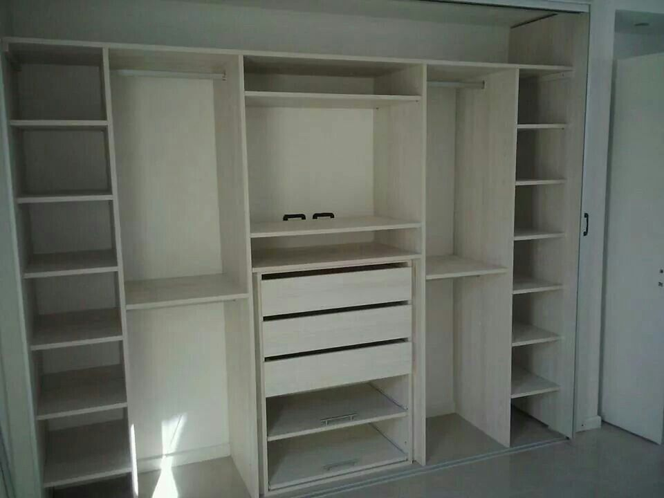 Closet melamina mis muebles pinterest armario for Diseno muebles melamina