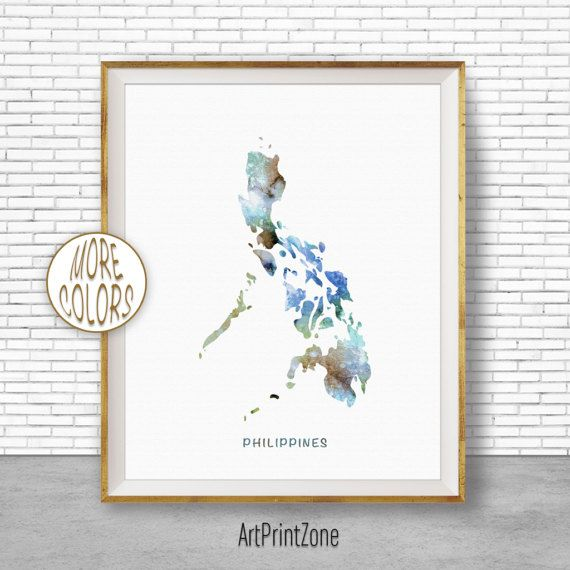 800 philippines map philippines print philippines art print 800 philippines map philippines print philippines art print watercolor print wall art publicscrutiny Images