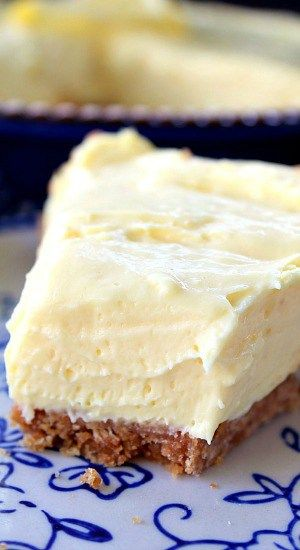 Cream Cheese Lemonade Pie - So refreshing and delicious!