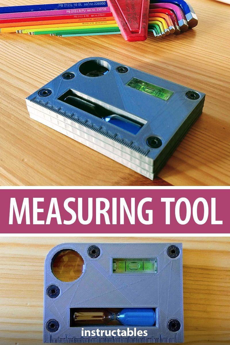 Measuring Tool - Handy Everyday Tool! | 3D Printing | Tools