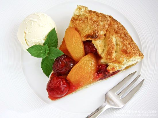 Photo of Apricot Cherry Galette