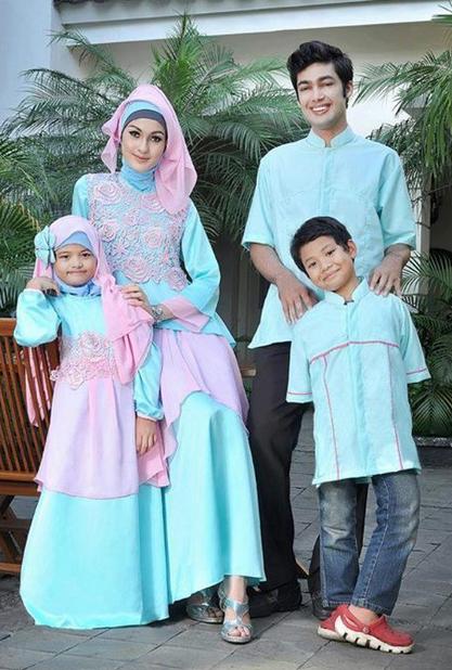 Ayo Lihat 30 Model Baju Muslim Lebaran Terbaru Di Tahun 2016