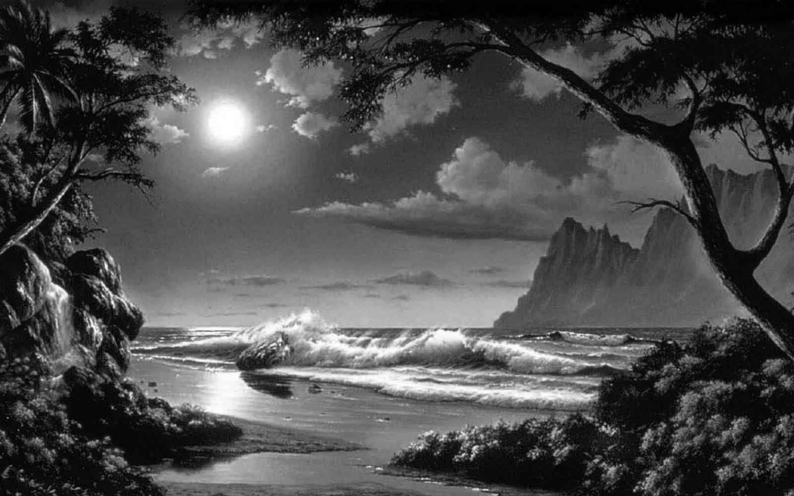 Fotografias en blanco y negro de hermosos paisajes for Laminas blanco y negro