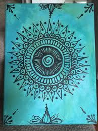 Find And Save Ideas About Simple Canvas Paintings On Pinterest See More Ideas About Simple Canvas Art Painting Ca Henna Canvas Canvas Painting Art Painting