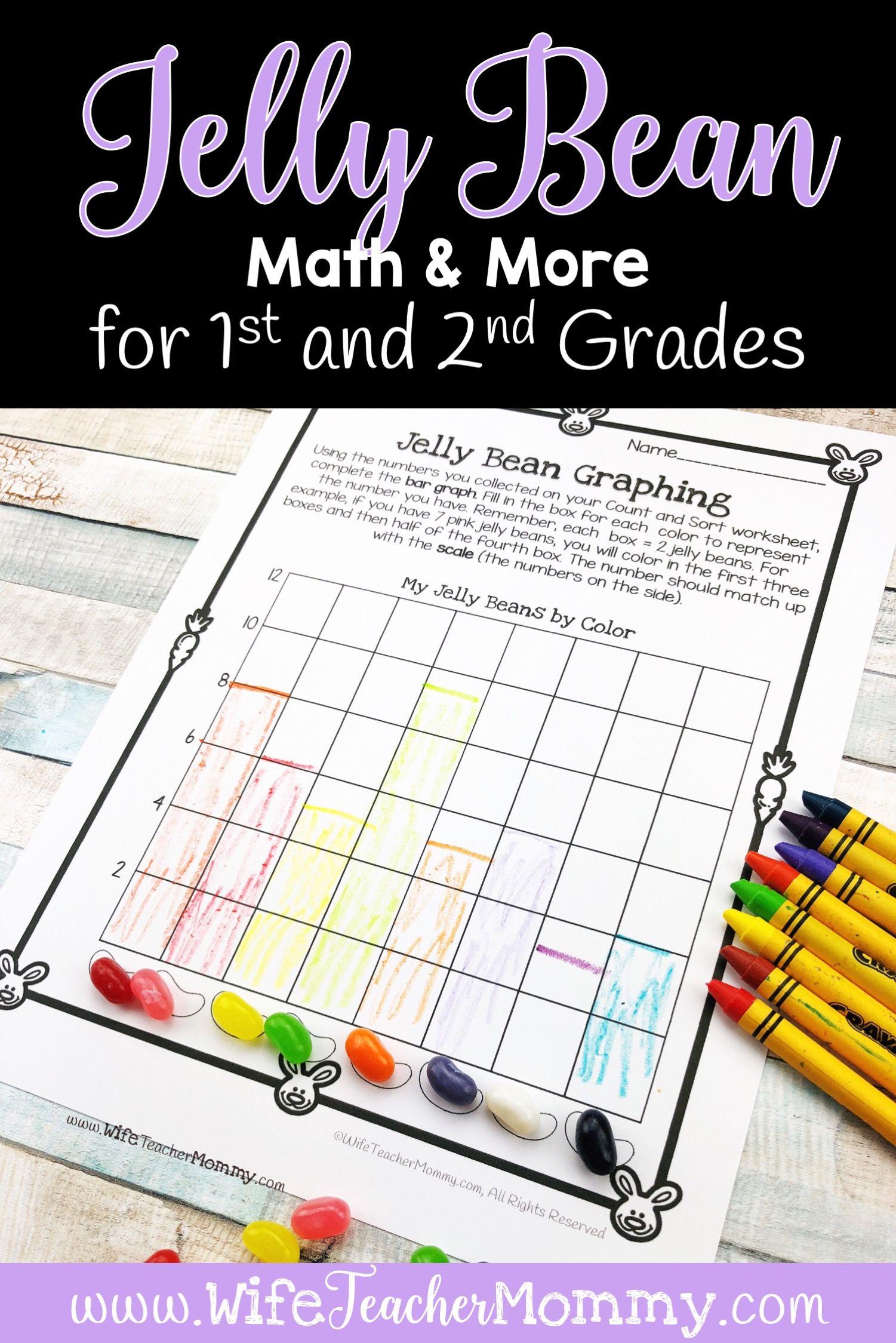 Jelly Bean Math More For 1st 2nd Grade Jelly Bean Math Spring Math Activities 2nd Grade [ 2249 x 1501 Pixel ]