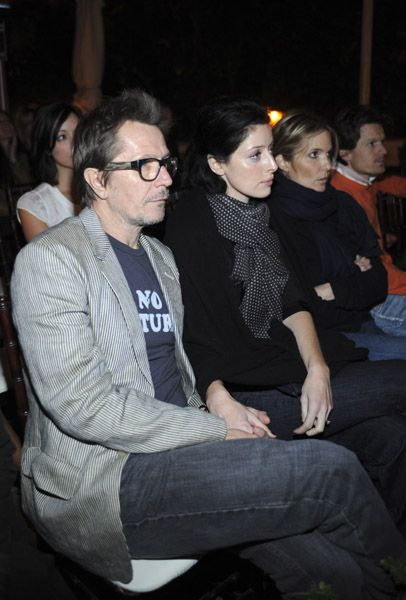 Gary Oldman and Alexandra Edenborough.  Perfect
