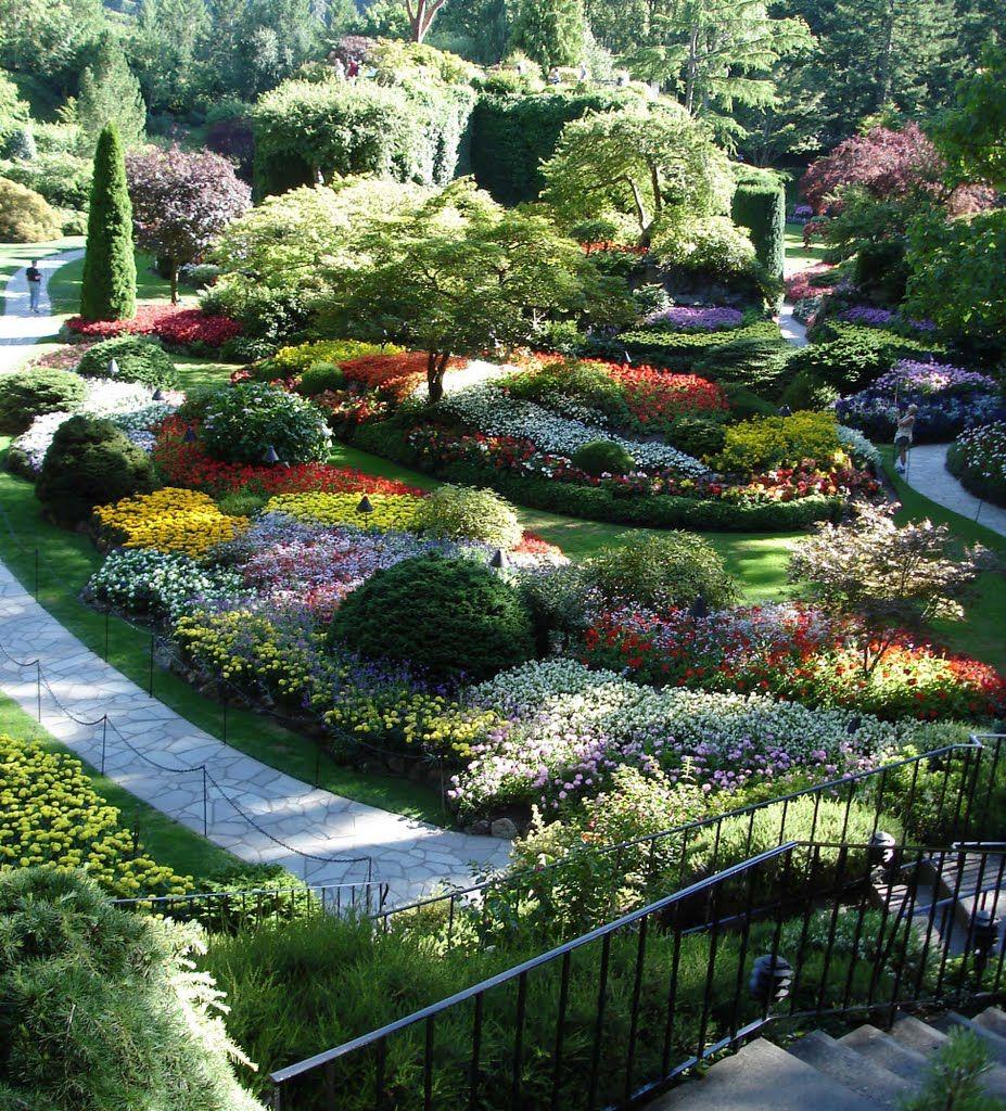 Speechless Beauty Of Buchart Gardens