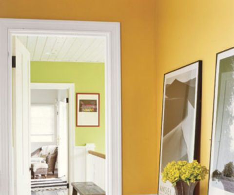 Colorful Room Ideas | Hall, Design color and House tours