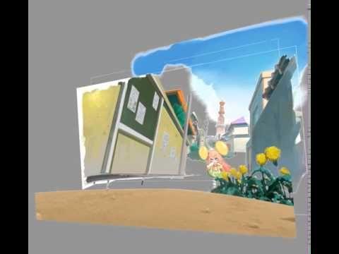 カメラの動きが大きい所はカメラマップで制作01(CCチュウアニメーションメイキングブック) - YouTube