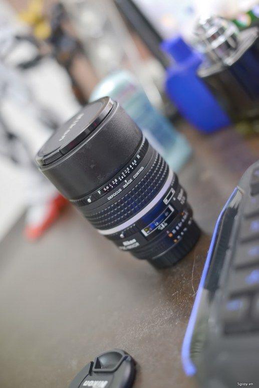 Cần bán lens nikon AF 105 f2 DC 2nd