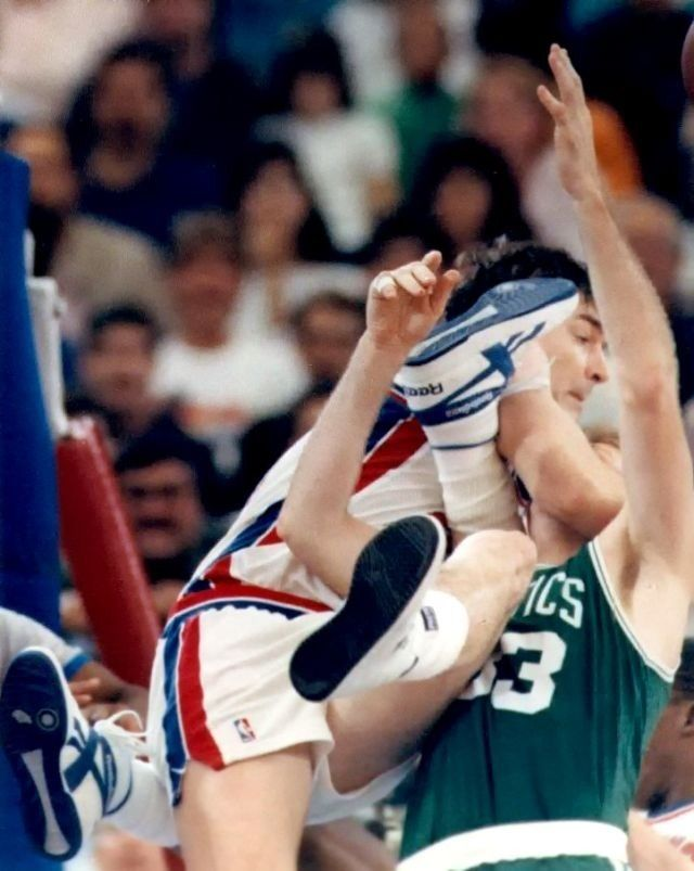 NBA Brawls: Bill Lambier Detroit Pistons Vs Larry Bird Boston Celtics
