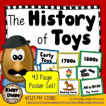 History Of Toys Timeline Posters Australian Hass History Civics