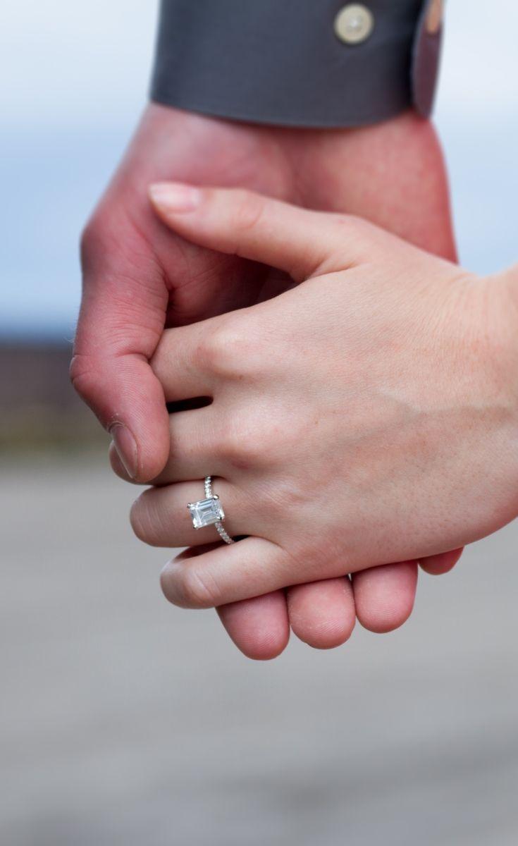 10/10 Oh my God please buy me this ring. The Petite Pavé Diamond ...