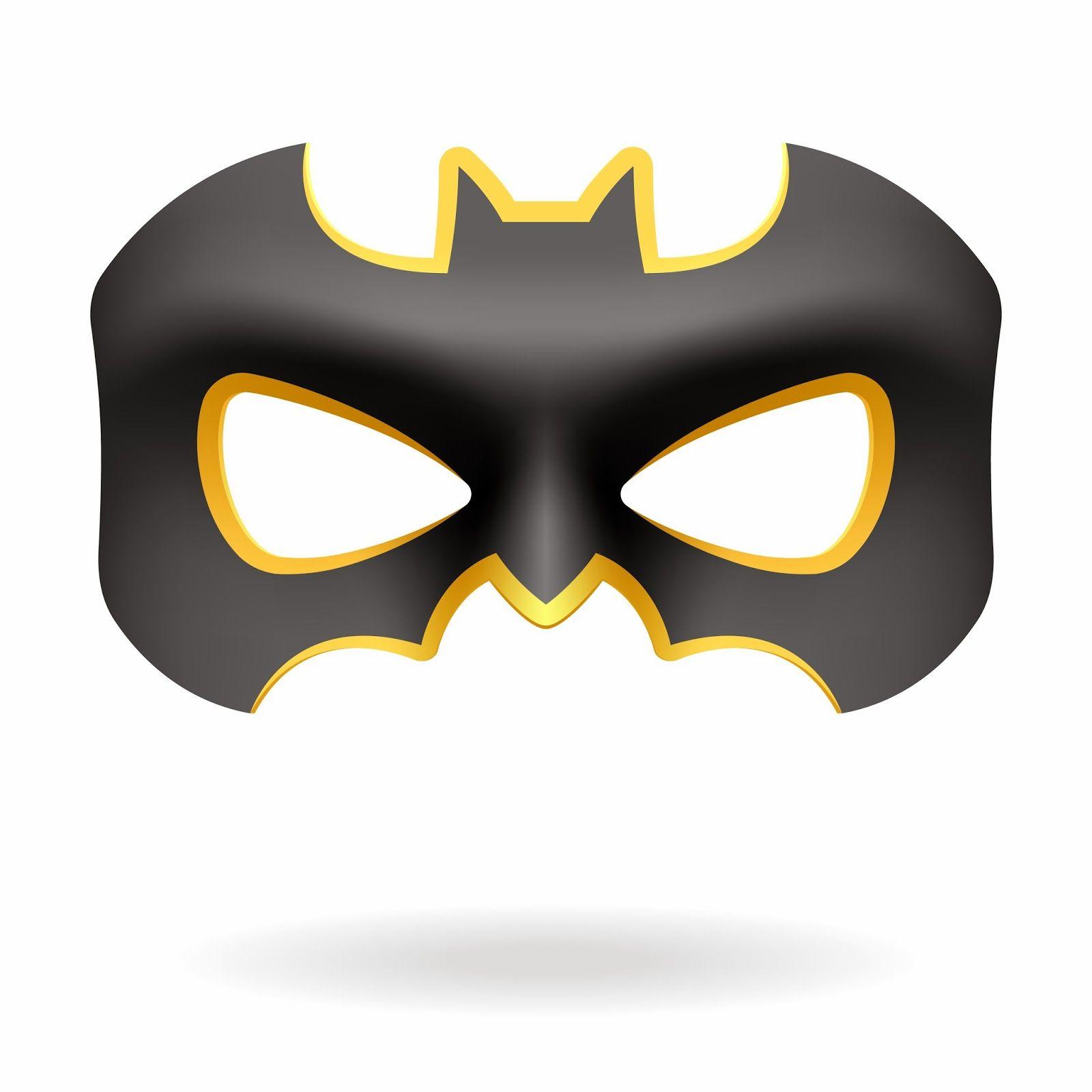 Máscaras de Batman y Batichica para Imprimir Gratis. … | Cumpleañ…