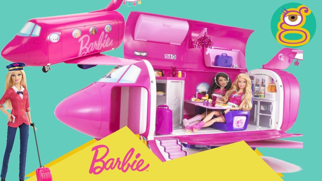 Jet Privato Barbie : Avión barbie jet privado glam vacation