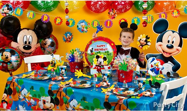 Mickey Mouse Birthday Party Supplies At Party City Cumpleanos De Mickey Mouse Fiesta De Mickey Fiesta De Mickey Mouse