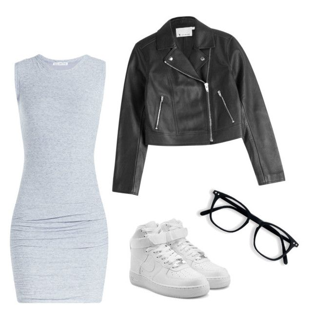 """""""🙌🏻"""" by tapabotella ❤ liked on Polyvore featuring James Perse, T By Alexander Wang and NIKE"""