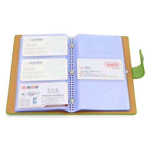 Btsky Book Style Business Card Holder Credit Card Id Card Https Www Amazon Com Dp B01e87x5do Ref Cm Sw R Pi Business Card Holders Card Organizer Card Book