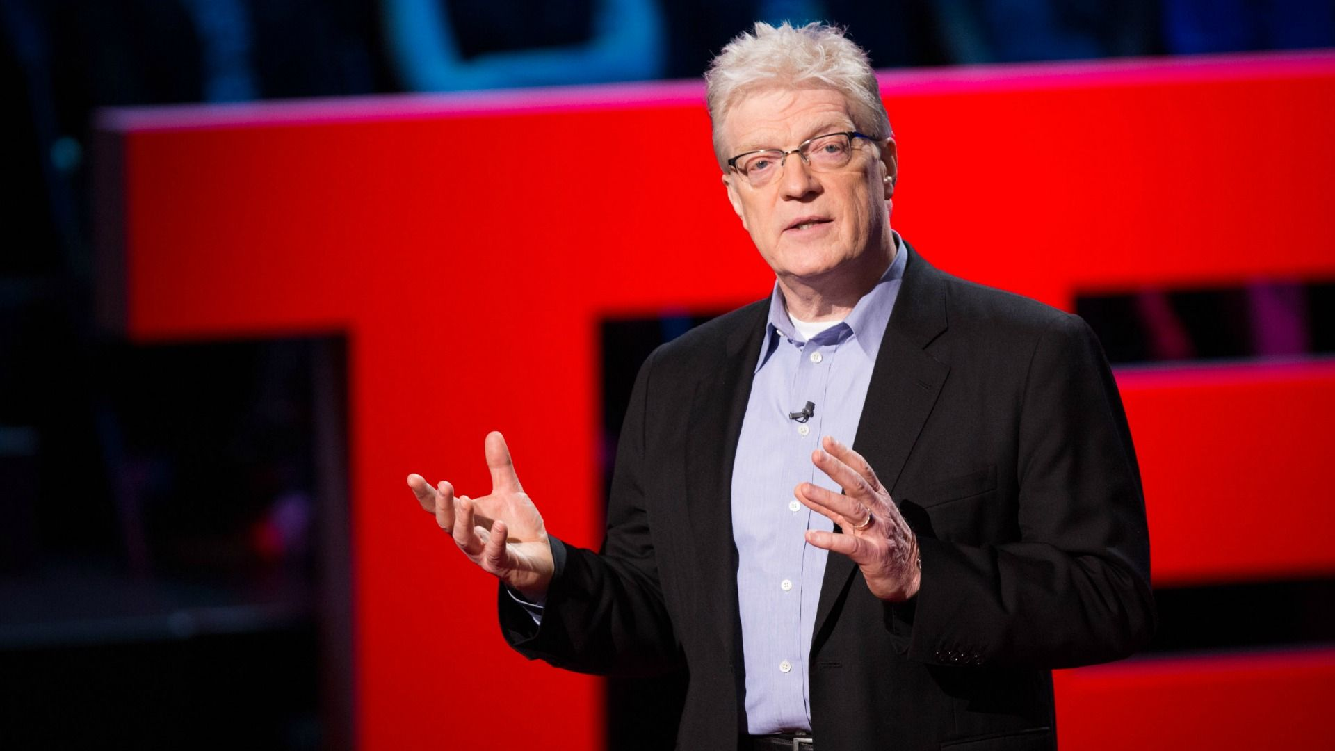 """Sir Ken Robinson is an author, educator and creativity expert who advocates for a diverse curriculum, local input into education strategies, and moving successful aspects of """"alternative"""" education programs into the mainstream."""