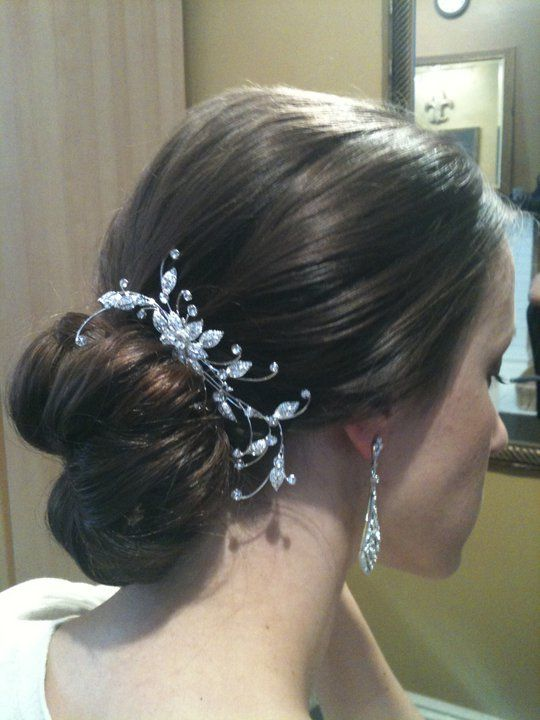 """Gorgeous bride during her """"tress edit"""" hair and makeup trial before her wedding!"""