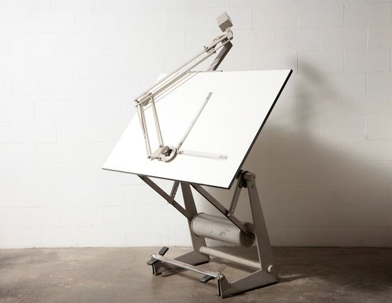 Friso Kramer Professional Drafting Table With Pedal Locking