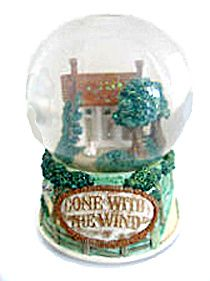 gone with the wind snow globes | Gone With The Wind Tara and Scarlett Musical Snow Globe (Unusual GWW ...
