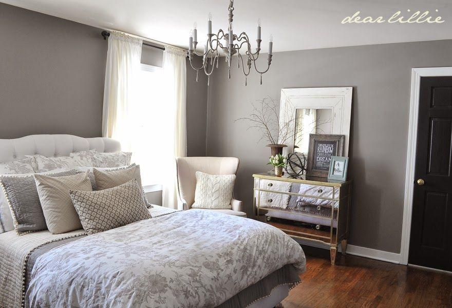 Wall Color - Graystone by BM in Matte Finish House Pinterest - couleur peinture pour chambre a coucher