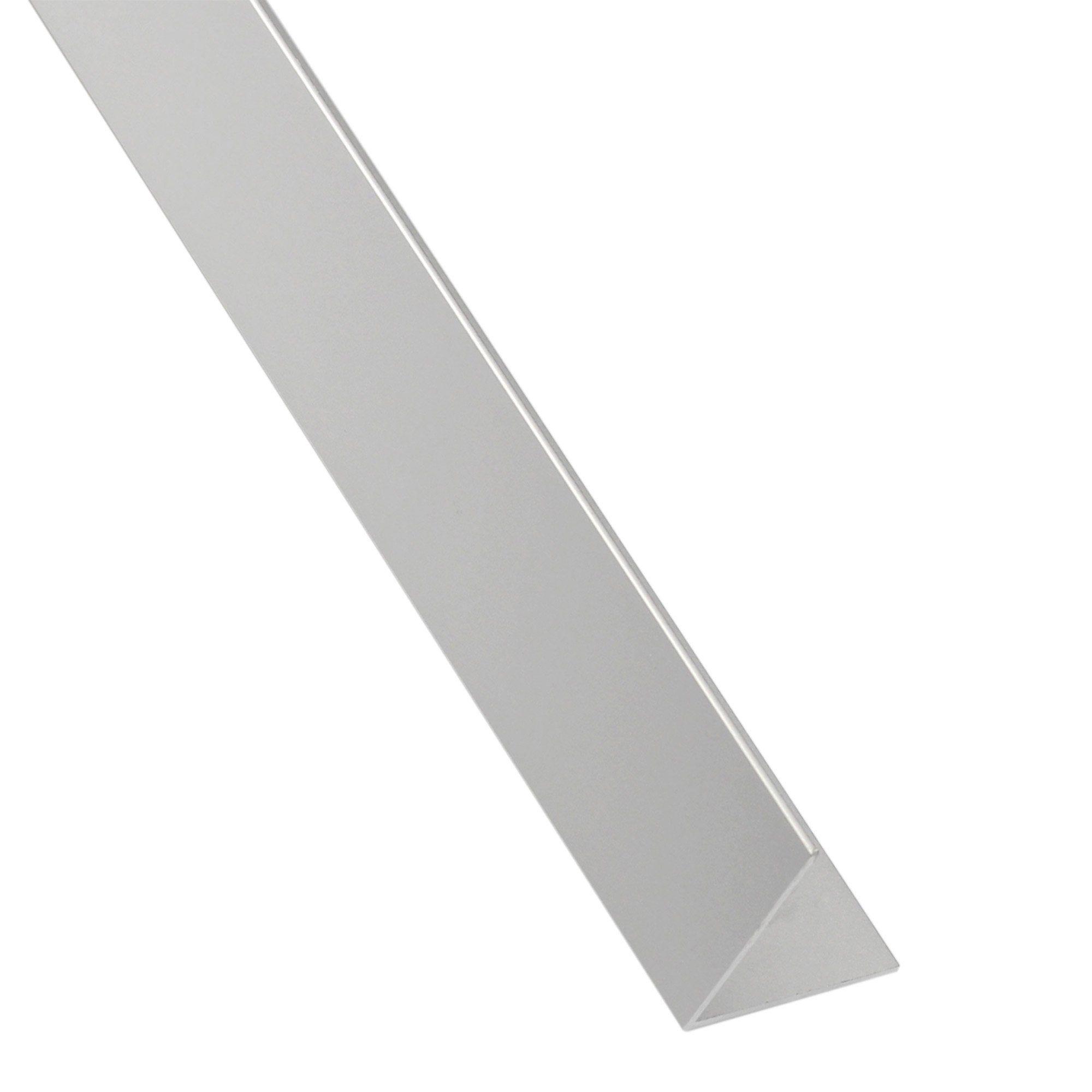 Cornière égale Aluminium Anodisé Brillant L26 M X L195