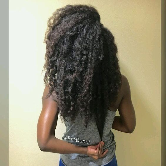 Hair Growth Supplement} and fall natural hair regimen #growth #grow #rice