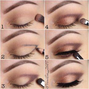 40 einfache Schritt für Schritt Make-up-Tutorials, die Sie lieben können #makeup