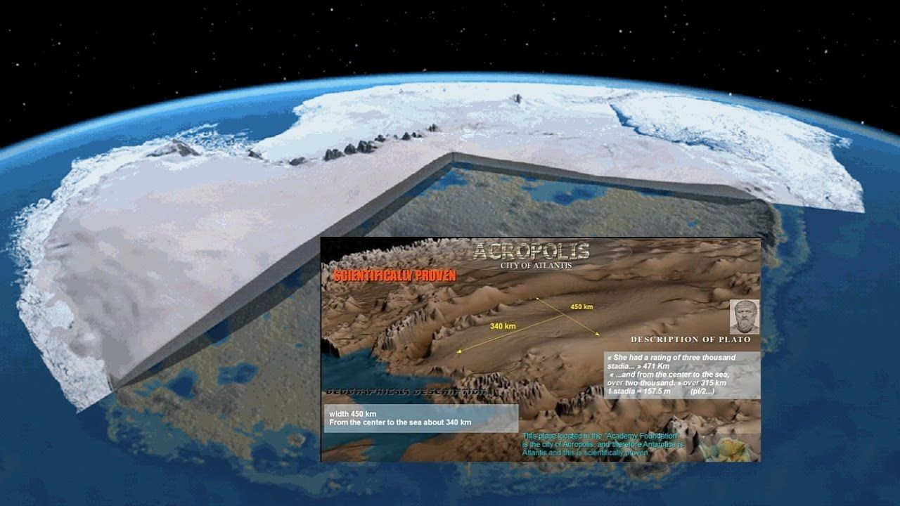 the evidence that the ancient lost city beneath the antarctic ice