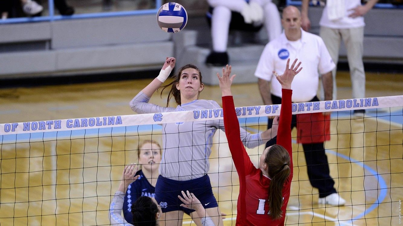2017 First Look Middles University Of North Carolina Athletics Volleyball News University Of North Carolina Chapel Hill North Carolina