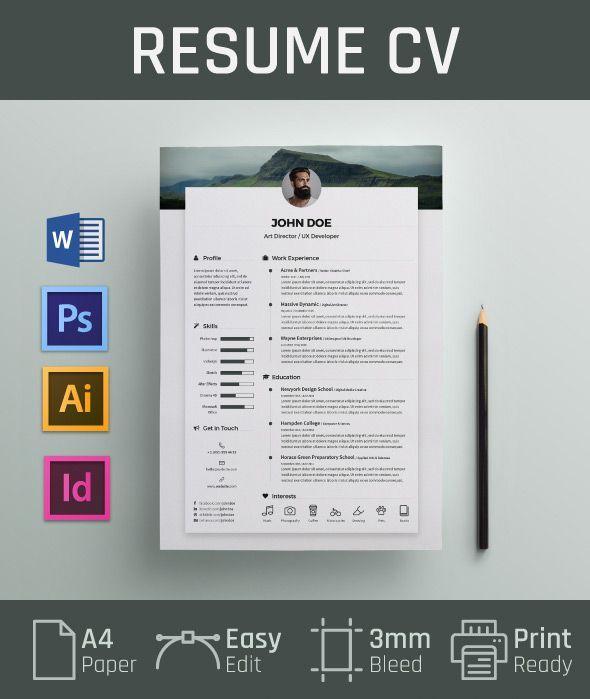 combination resume template doc