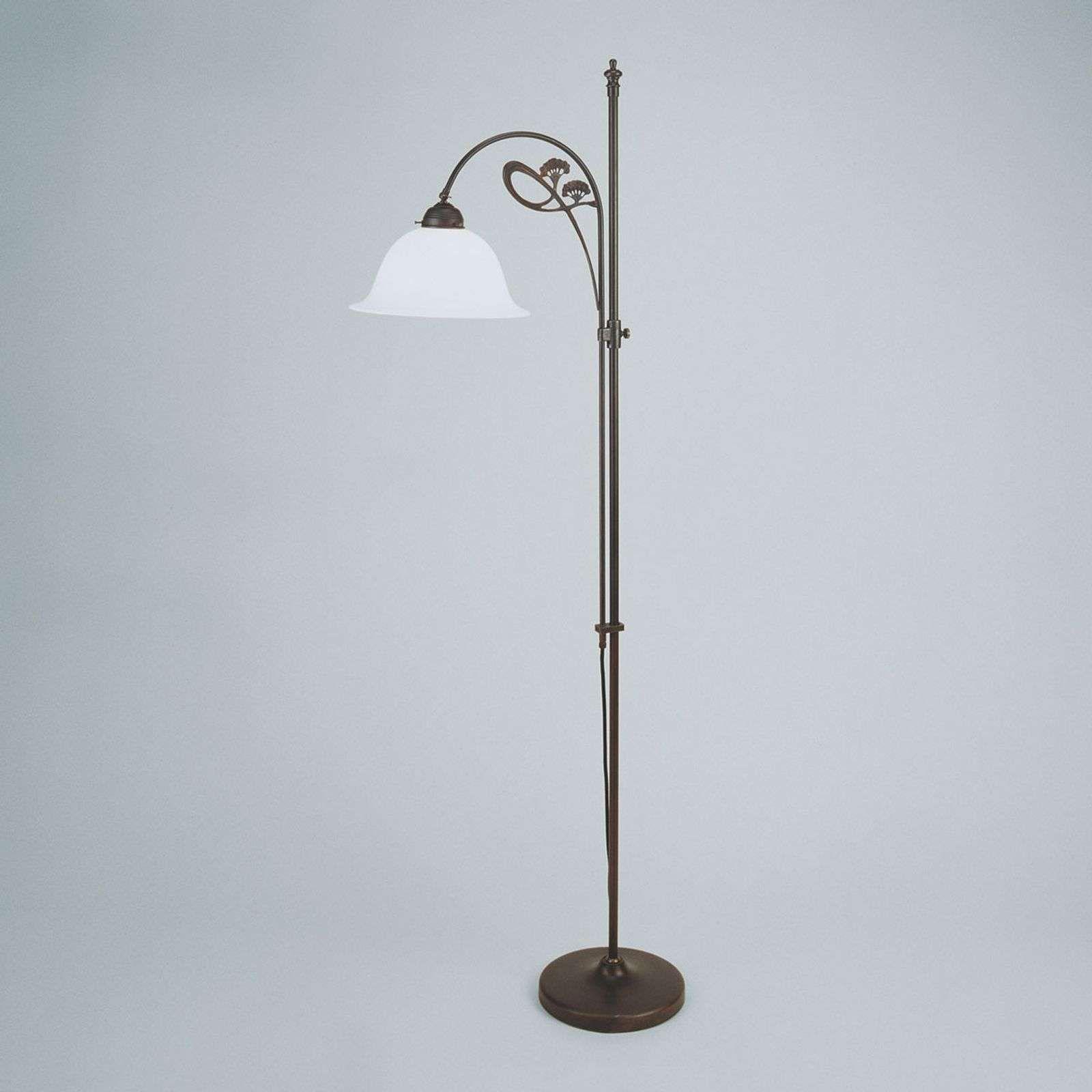 Dezente Stehleuchte Ilka Antike Farbgebung Stehlampe Dimmbar