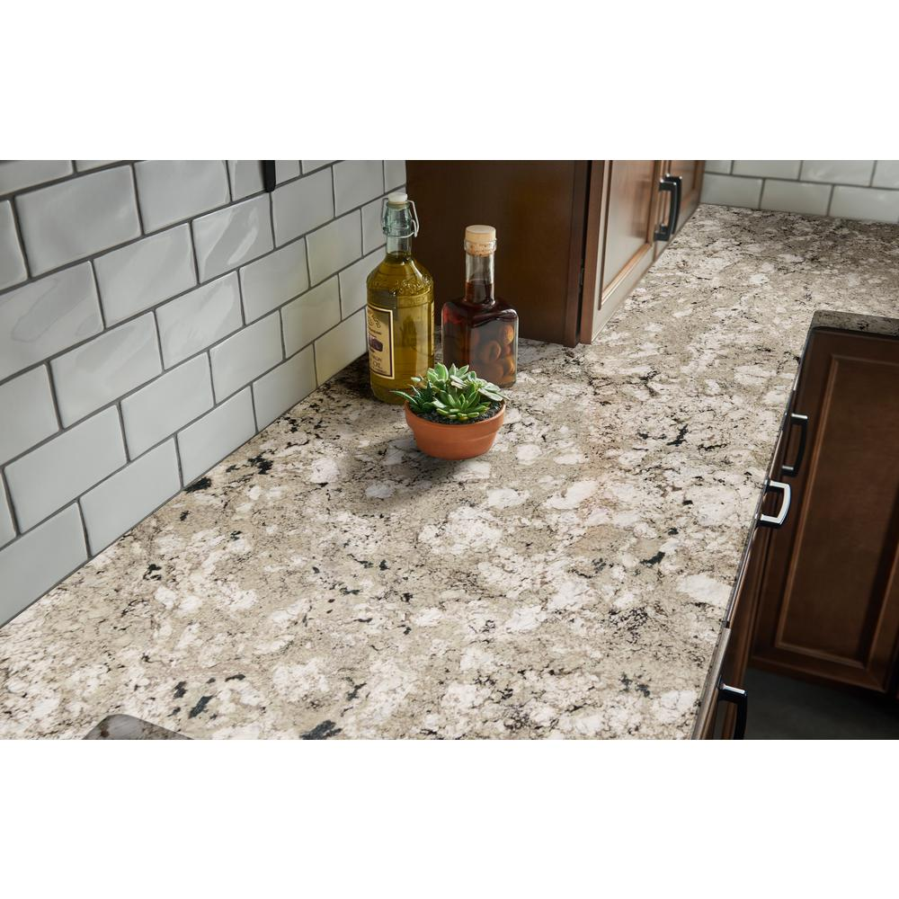 Stonemark 3 In X 3 In Granite Countertop Sample In Pearl P Rsl Avlnwht 3x3 The Home Depot In 2020 Countertops Granite Countertops Outdoor Kitchen Countertops