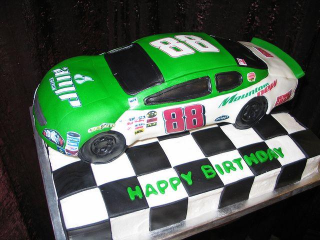 Nascar Birthday Cake Nascar Cake And Birthdays