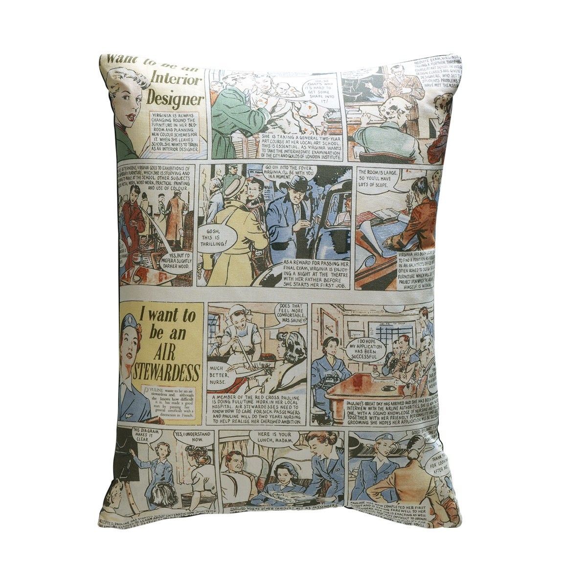 I Want To Be An Interior Designer Cushion From Andrew Martin