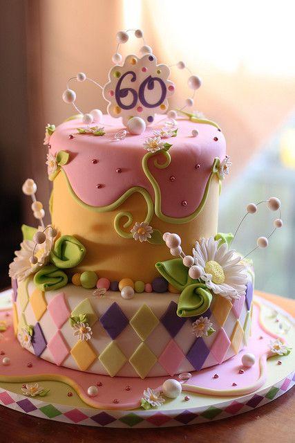 www.facebook.com/cakecoachonline - sharing....Daisy Birthday Cake