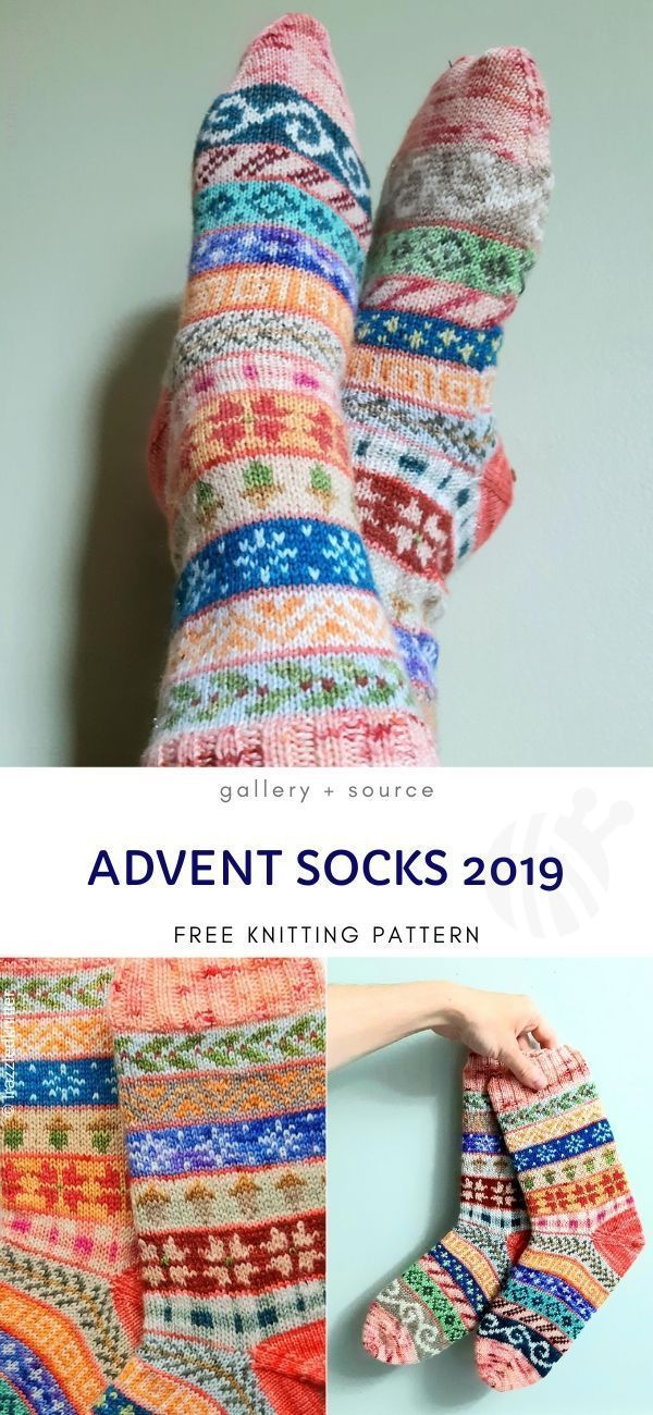 Photo of Amazing Colorful Knitted Socks