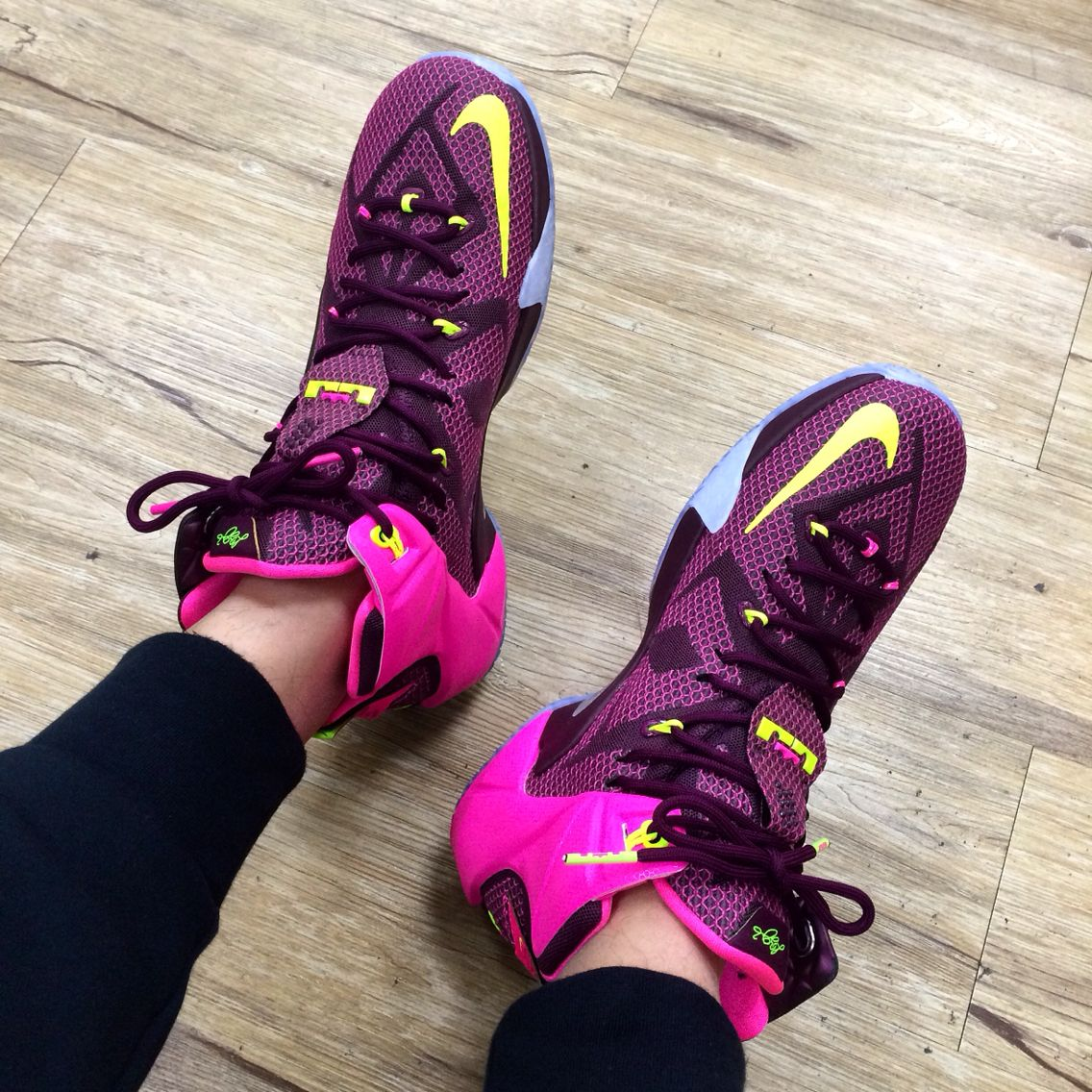 outlet store 334c0 df9ed Nike LeBron 12 Double Helix