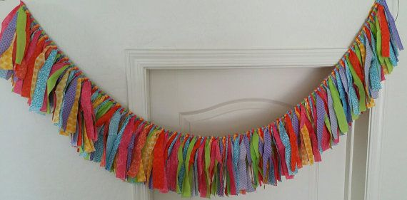 Fun tassel banners for any occasion by CustomelyCute on Etsy, $25.00
