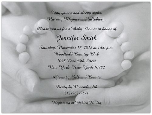 """Baby shower invite - I'm thinking """"Miracle of Life"""" theme or something along those lines"""