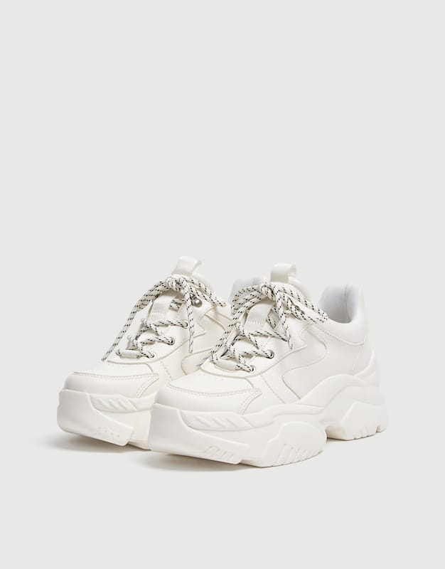chaussure basket blanche